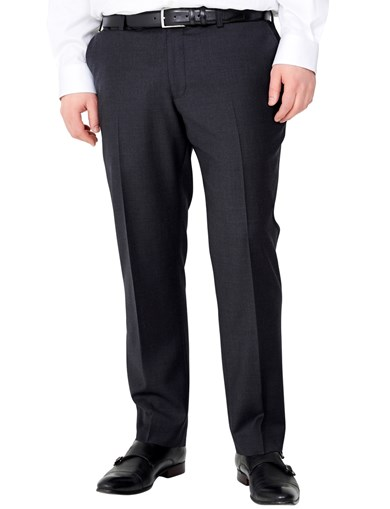 Super 100 Suit Trouser - Antracite