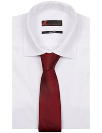- Silk Tie Solid Red