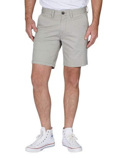 Solid Chinos Shorts