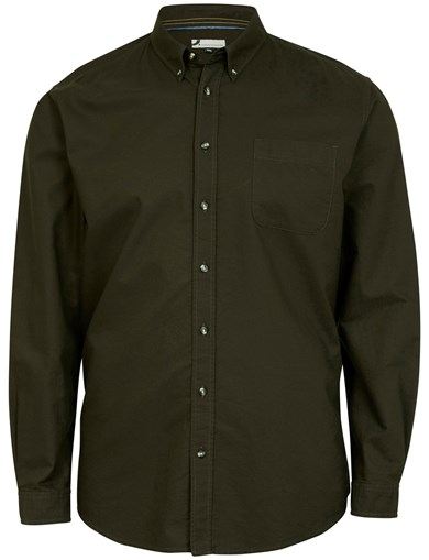 Oxford Solid LS Shirt