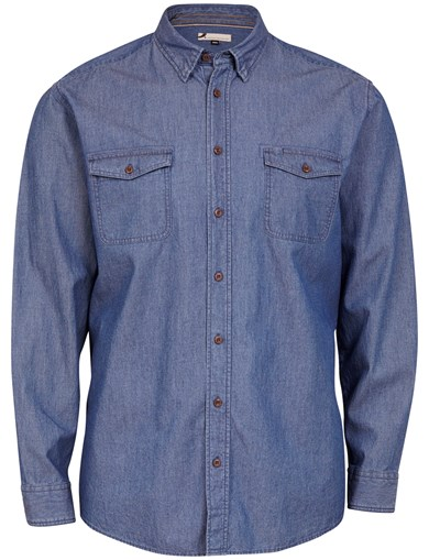 Denim Structure LS Shirt