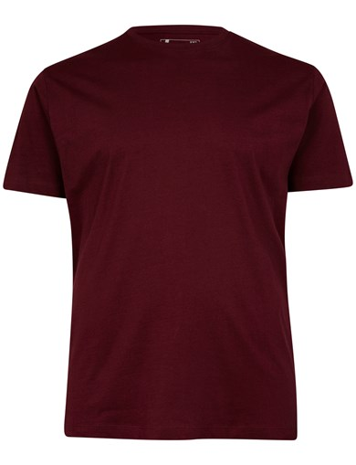 T-Shirt Basic Solid Wine