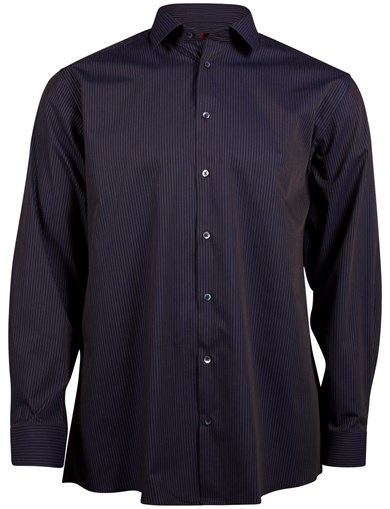 Sateen Pinstripe Shirt