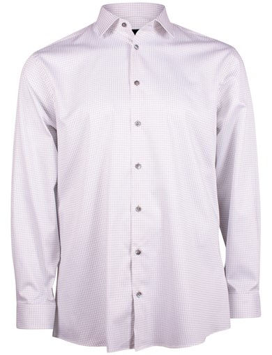 Sateen Check Shirt