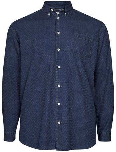 Denim Dot LS Shirt