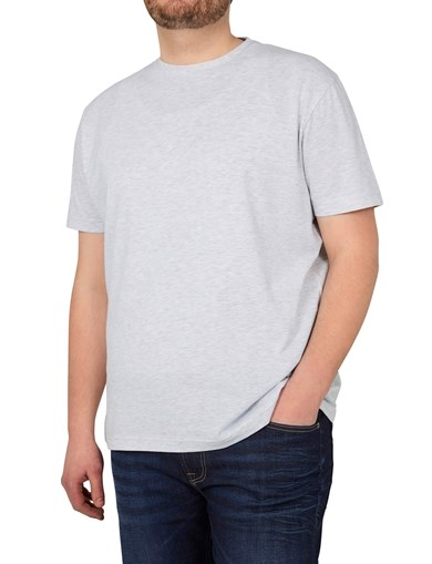 Basic T-Shirt Grey Mel