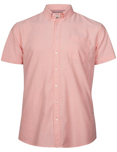 Oxford SS Shirt Coral