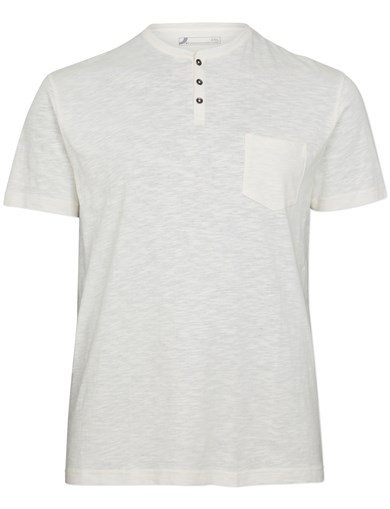 Henley Tee OffWhite
