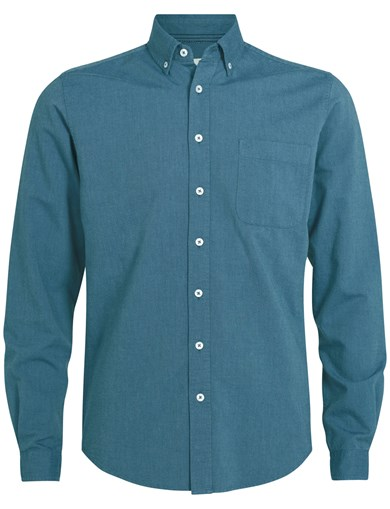 Shirt Cotton Oxford D.Blue