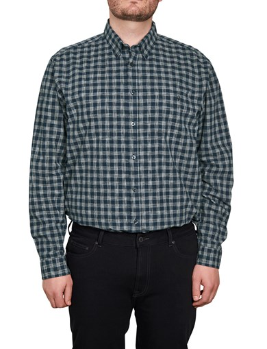 Shirt Cotton Poplin Check