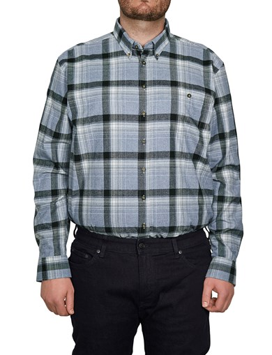 Shirt Flannel Lt. Blue