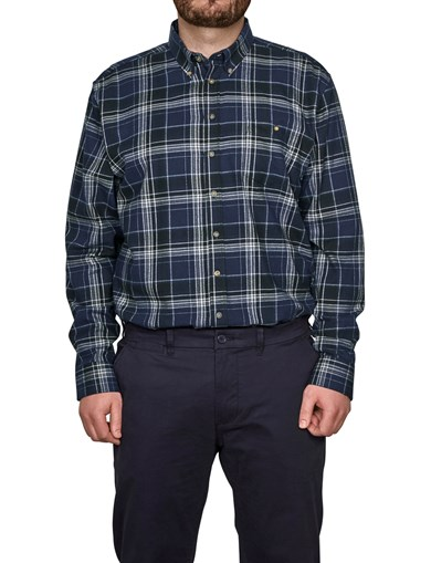 Shirt Flannel Black