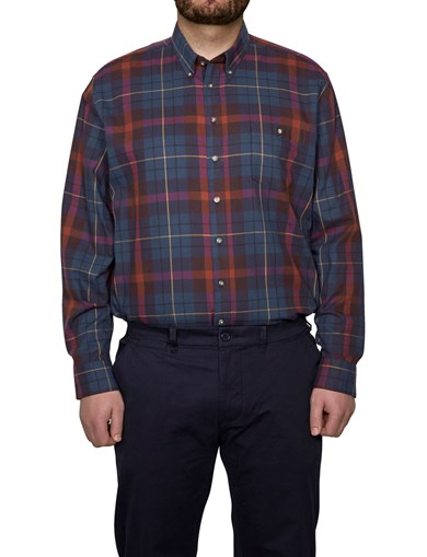 Shirt Flannel Navy