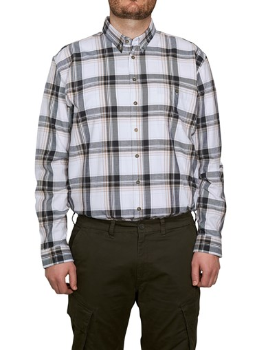 Shirt Flannel White