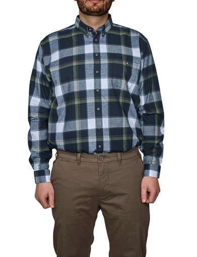 Shirt Flannel Moss