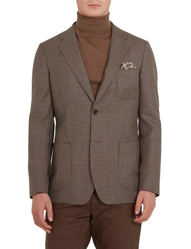 D+LJ Mini Window Pane Blazer