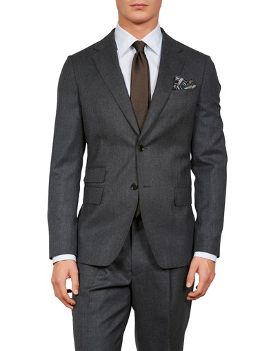 D+LJ Wool Flannel Suit Blazer