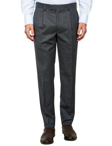 D+LJ Wool Flannel Suit Trouser